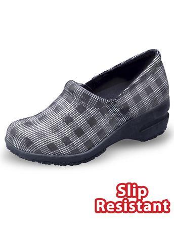Cherokee Patricia Plaid Clog Style # PATRIPLD