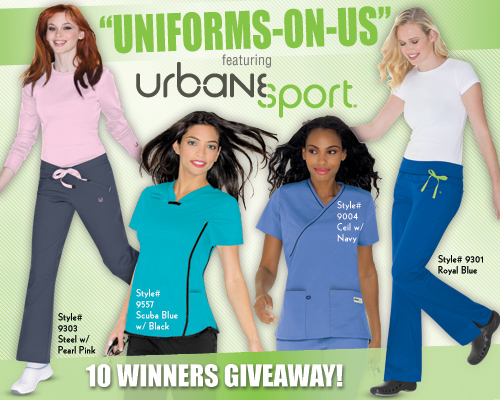 Urbane Sport Giveaway Medical Scrubs Mall