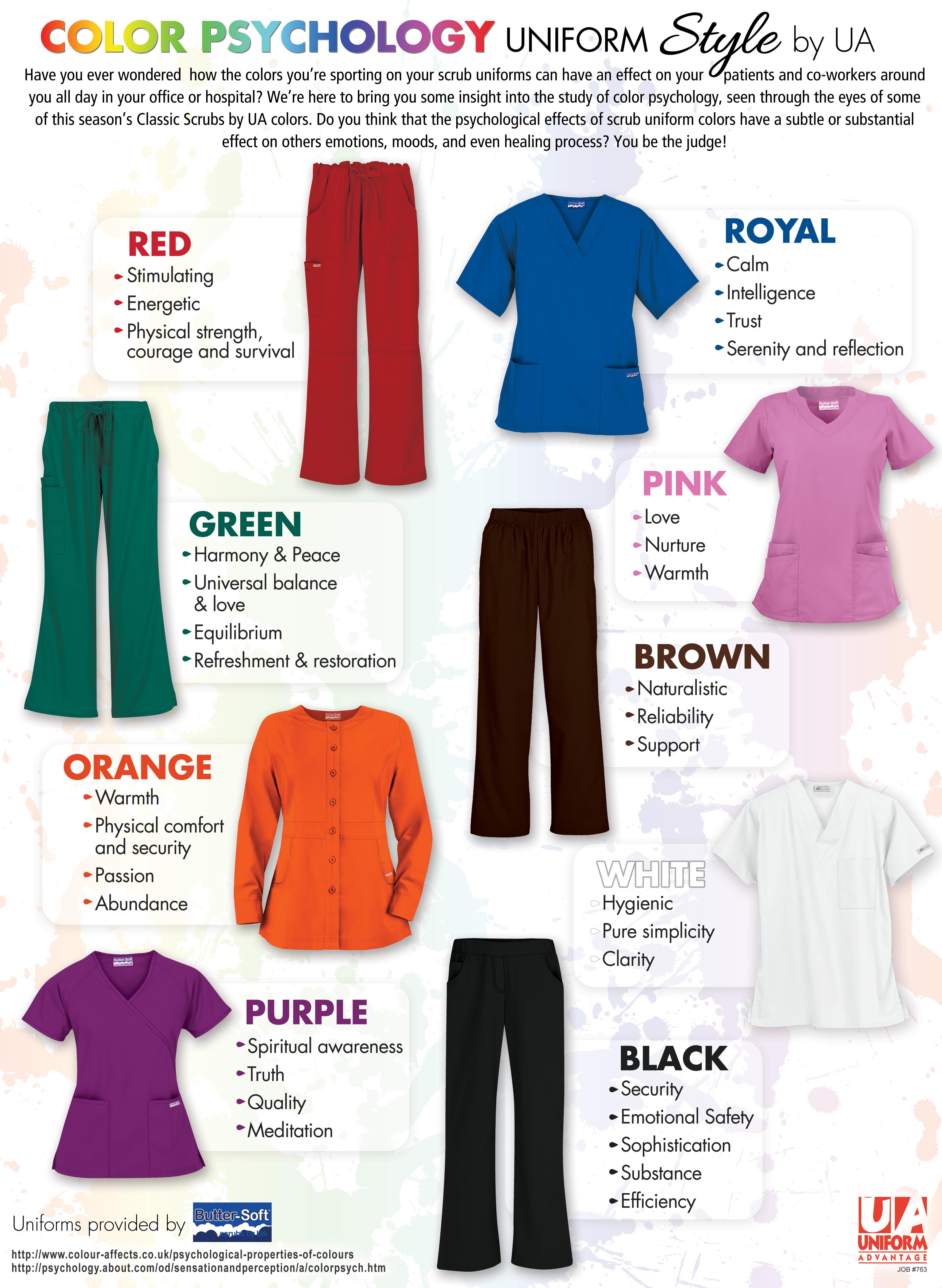Color psychology guide for your medical scrubs for Pink color psychology