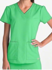 Grey's Anatomy Scrubs V-Neck Top; Style # 71166 found on MedicalScrubsMall.com