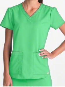 Grey's Anatomy Scrubs V-Neck Top; Style # 71166 found on MedicalScrubsMall.com