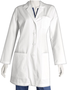 Barco ICU Women's Tablet Lab Coat found on Medicalscrubsmall.com