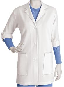 Grey's Anatomy Signature Scrubs STRETCH Roll Tab Sleeve Lab Coat found on MedicalScrubsMall.com
