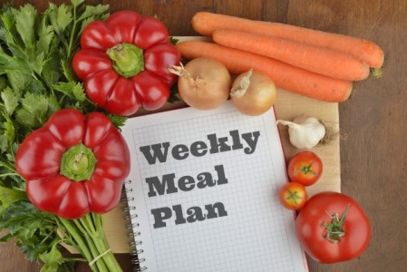 Plan your meals for the week founf on Medicalscrubsmall.com's Blog