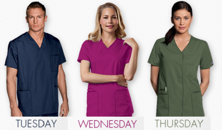 Recolor your work week with Cherokee Workwear on blog.medicalscrubsmall.com