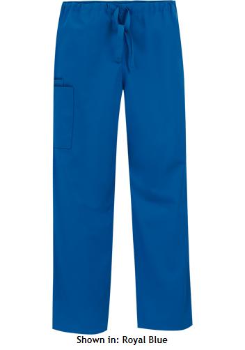MSM Cherokee Workwear Unisex Drawstring Scrub Pant, Style 4100 found on MedicalScrubsMall.com