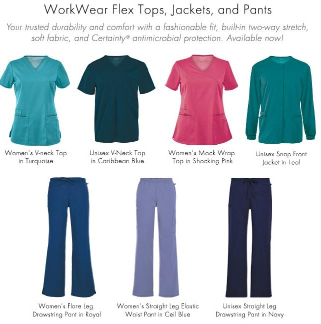 medical scrubs workwear