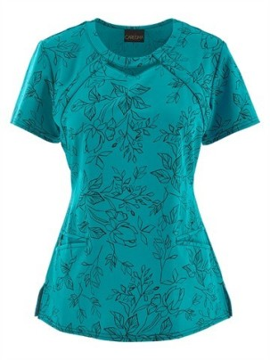 turquoise print